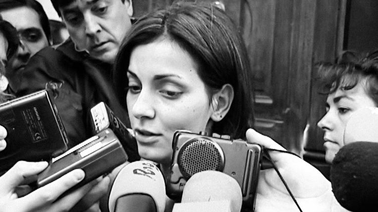 Nevenka Fernández in 'Nevenka: Breaking the Silence' Beeld