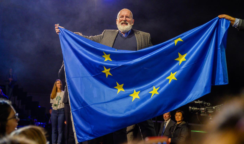 Frans Timmermans is als Eurocommissaris verantwoordelijk voor de klimaatwet van de EU.