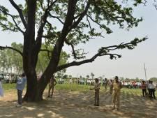 Verkrachte vrouw hangend aan boom gevonden