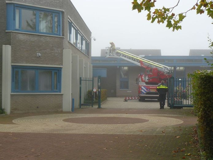 Brand in het gebouw van Stichting Beter Wonen