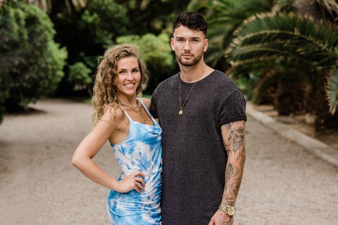 Donna en Nico - 'Temptation Island: Love or Leave'.