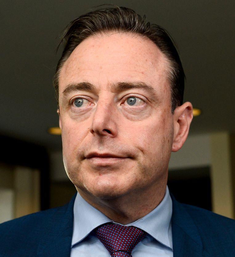 In de ranglijst van de 45 N-VA-burgemeesters staat voorzitter Bart De Wever op de 31ste plaats. Beeld BELGA