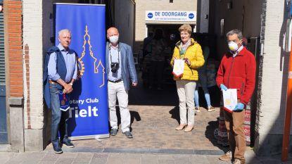 Voedselbank De Doorgang krijgt extra duwtje in de rug van Rotary Tielt
