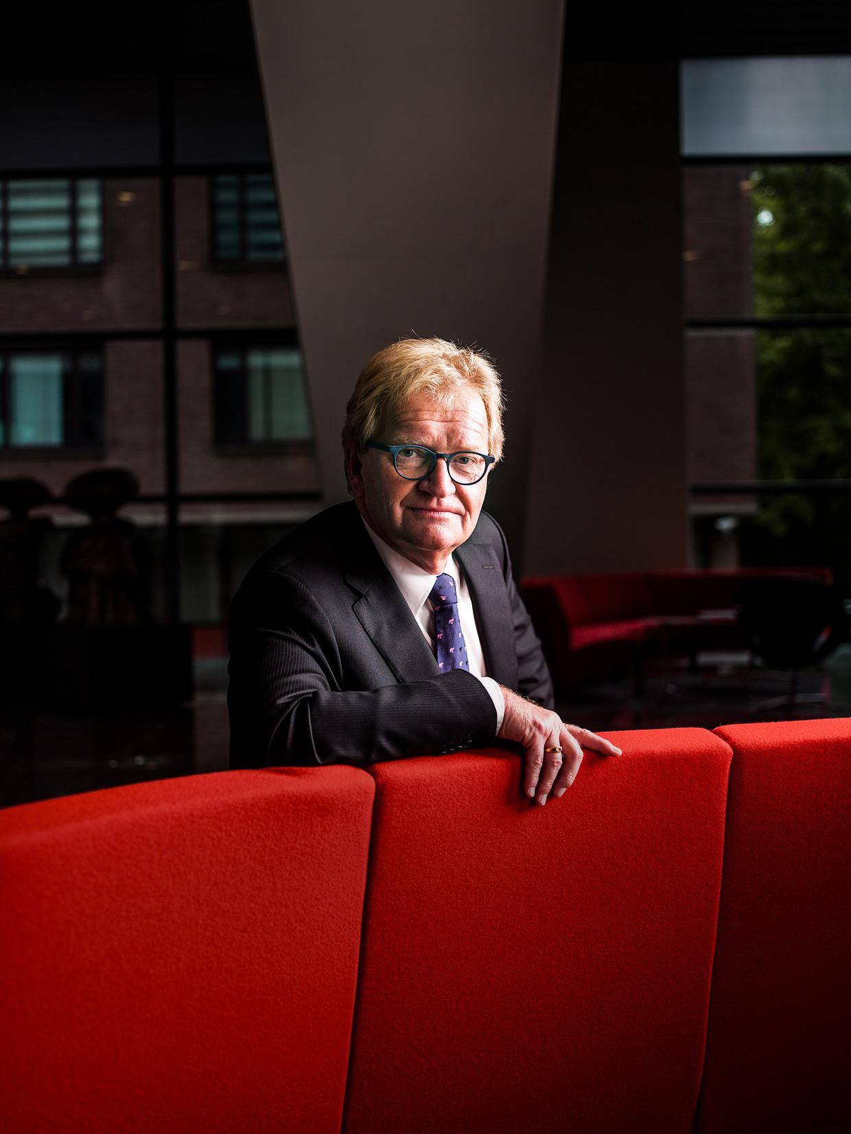Hans de Boer, vertrekkend voorzitter VNO-NCW. Beeld Jiri Buller