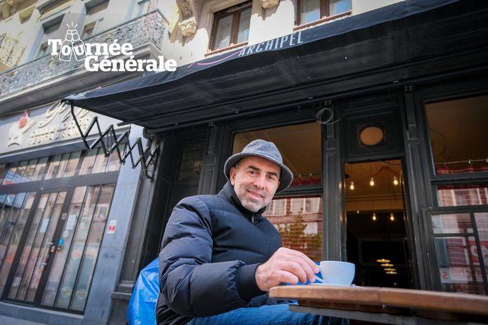 Izzy Dunga van café Archipel.