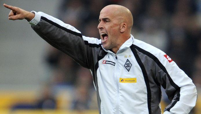 Michael Frontzeck werkte eerder als trainer van Borussia Mönchengladbach in de Bundesliga