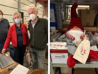 Rotary laat Santa Claus 2.000 euro ophalen bij leden voor sociale kruidenier