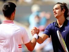 """Musetti explique son abandon contre Djokovic: """"Ce n'était plus intéressant pour le public"""""""