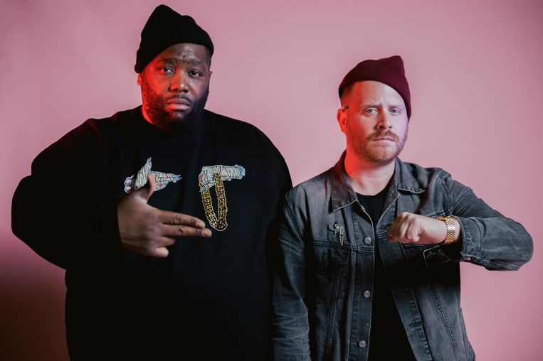 Run The Jewels, het rapduo van Killer Mike en El-P. Beeld Run the Jewels