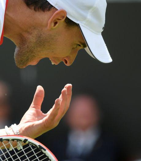 Blessé, Dominic Thiem renonce à Wimbledon