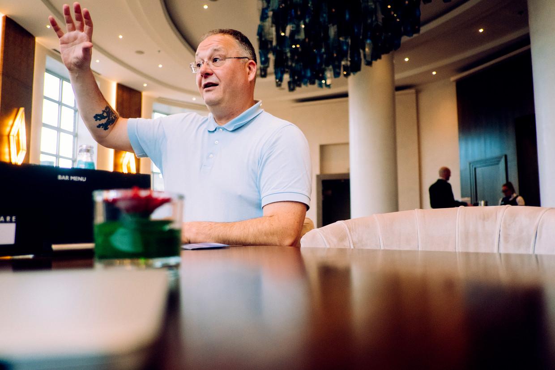 Cas Mudde: 'In Hongarije is de liberale democratie al verdwenen, in Polen verkeert ze in groot gevaar.'  Beeld Stefaan Temmerman