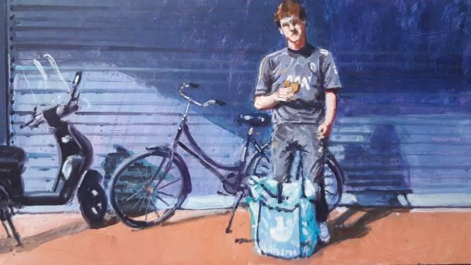 Maaltijdbezorger Floris (17) bestelt zelf nooit wat: 'Veel te duur'