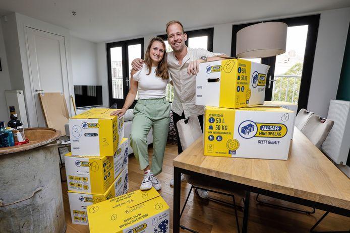 Philip Thiadens en zijn vriendin Aiive Biermans zijn tophockeyers-af en verhuizen naar Canada.