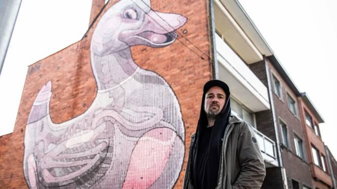 Ontdek de mooiste street art van Hasselt: Kurt Bosmans van Street Art Festival neemt ons mee naar 8 kleurrijke kunstwerken