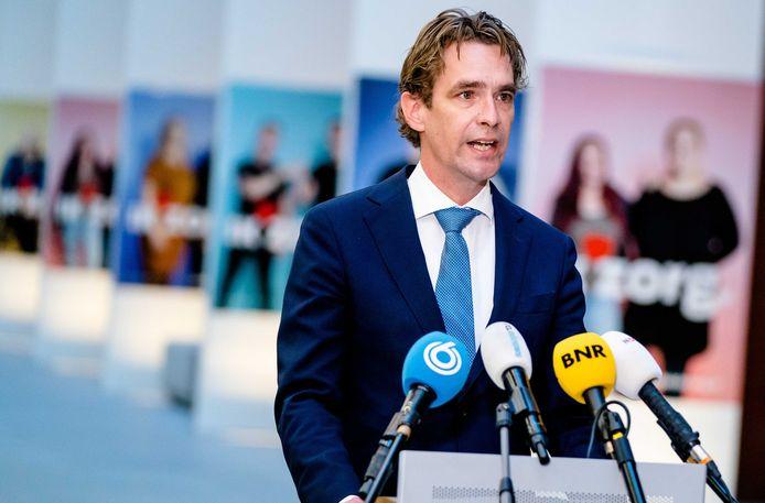 Staatssecretaris  Bas van 't Wout van Sociale Zaken en Werkgelegenheid.