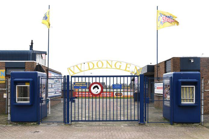 Het sportcomplex De Biezen, de thuishaven van VV Dongen
