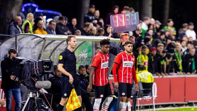 Maxi Romero sluit met rentree bij verliezend Jong PSV jaar blessureleed af