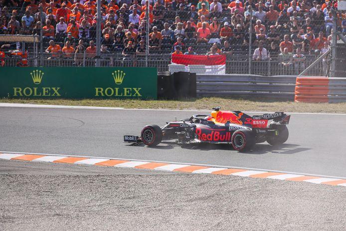Max Verstappen a dominé les qualifications de 'son' Grand-Prix.