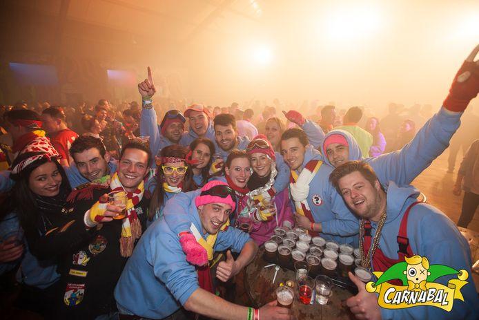 De editie van Carnabal in 2018. Dit jaar gaat het jongerenfeest niet door in deze opzet, maar wordt het feest verplaatst vanaf de manage naar twee jongerencafés in Schijndel.