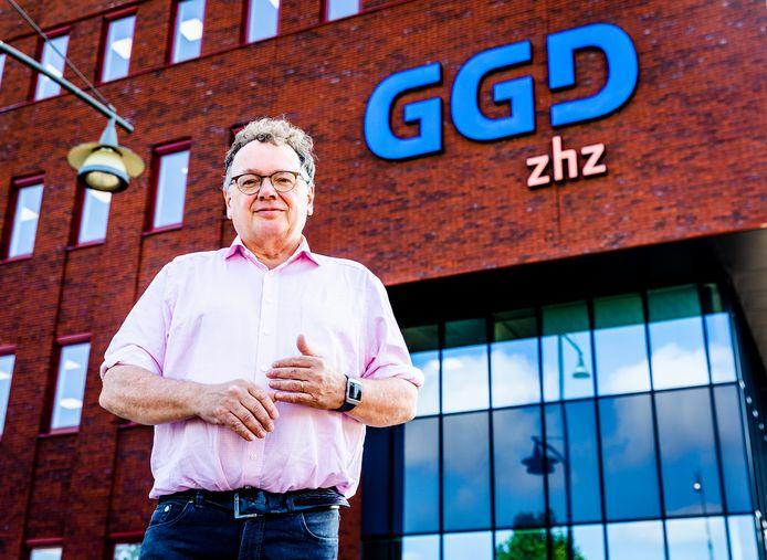 Cees Vermeer trad op 1 september 2020 aan als directeur van de GGD Zuid-Holland Zuid.