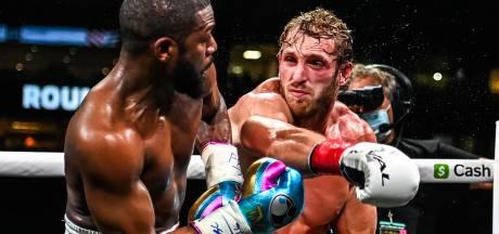 YouTube-ster Paul overleeft clash met bokslegende Mayweather: 'Hij is beter dan ik dacht'