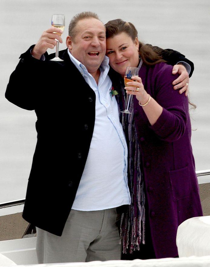 Les et Samantha Scadding, qui ont gagné pas moins de 55 millions d'euros en 2009, se sont séparés en 2014.