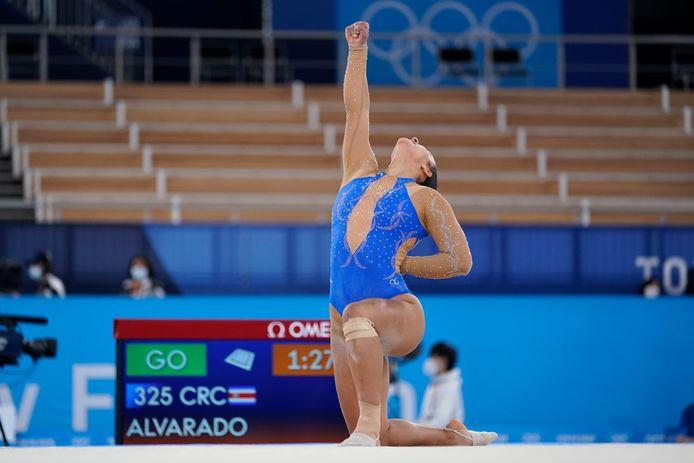 Luciana Alvarado.