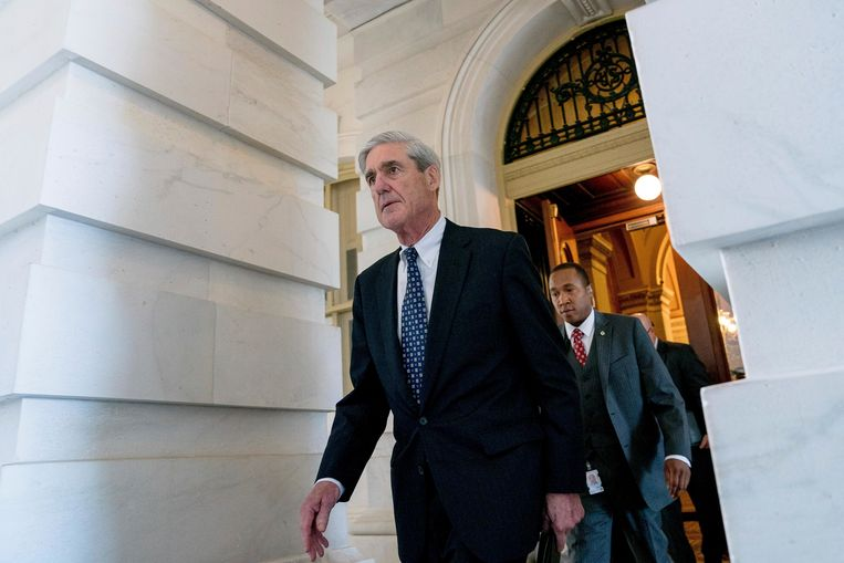 Speciaal aanklager Robert Mueller. Beeld AP