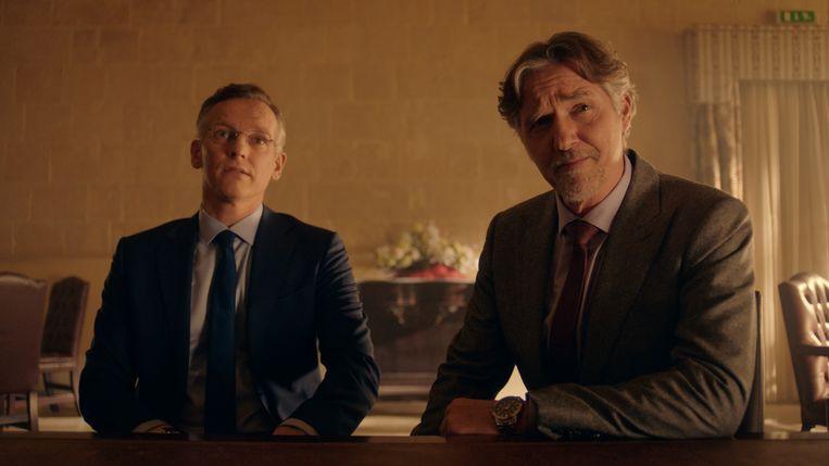 Barry Atsma en Thom Hoffman in Klem . Beeld  BNNVARA