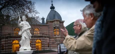 Godin juno pronkt na restauratie weer in volle glorie voor Musis in Arnhem