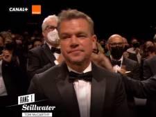 Matt Damon les larmes aux yeux, bouleversé par la réaction du public
