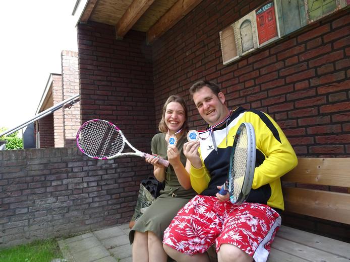 Inge Hogenboom en Dennis Wennekes.