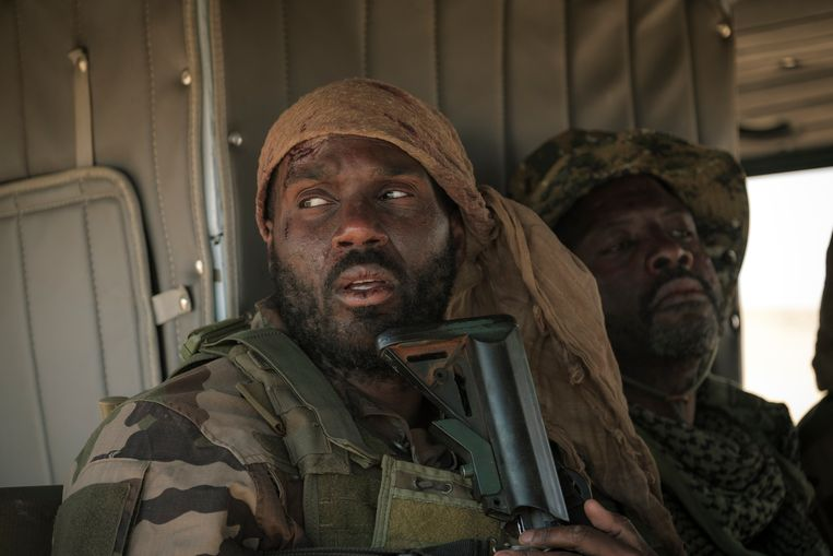Werner Kolf als commandant John de Koning, in de dramaserie Commando's. Beeld Avrotros