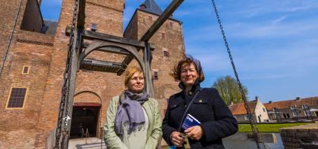 Eerste dag van testopening Slot Loevestein: 'Een hoop gedoe vooraf'