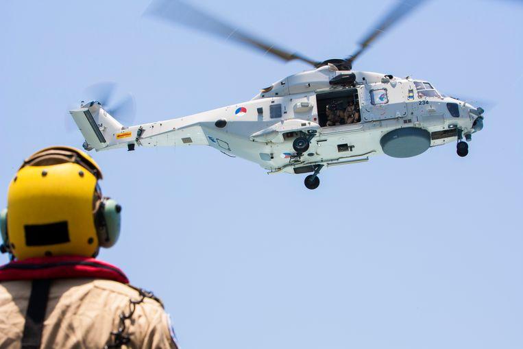De toestellen werden gebruikt bij de anti-piraterijmissie voor de kust van Somalië.  Beeld  Ministerie van Defensie
