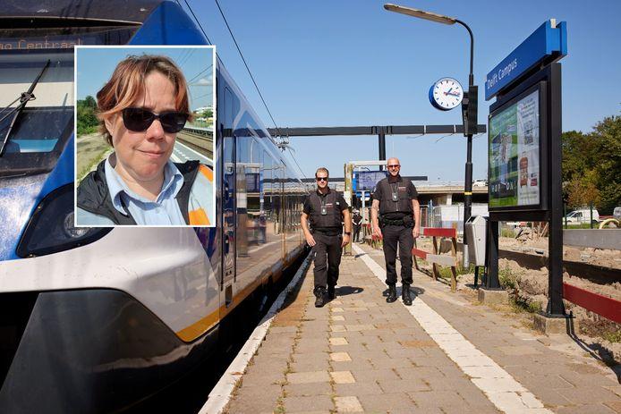 Erika Hofman snapt niets van de risico's die mensen nemen bij het oversteken op het spoor