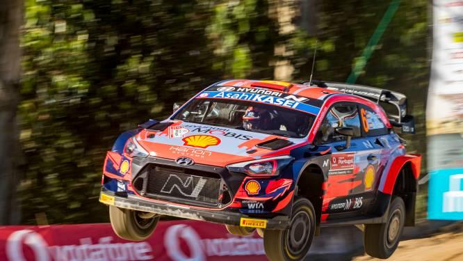 Sordo blijft aan de leiding in Rally van Portugal - Neuville tweede