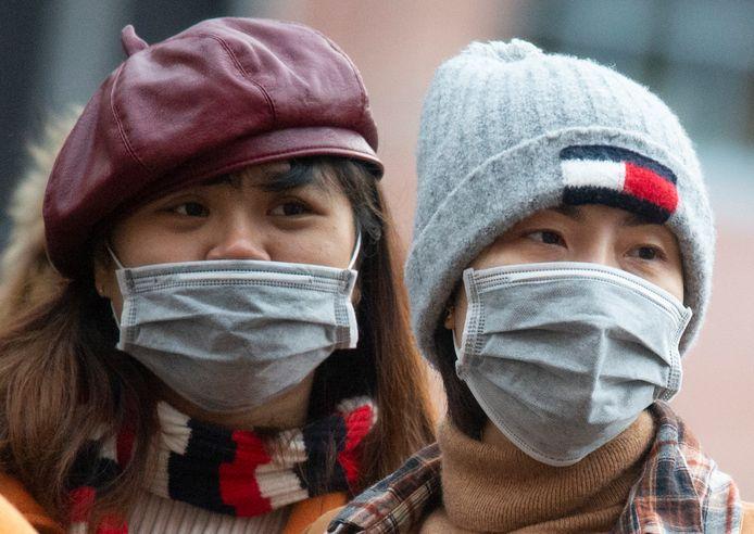 De mondkapjes zijn vooral in Aziatische landen zeer geliefd.