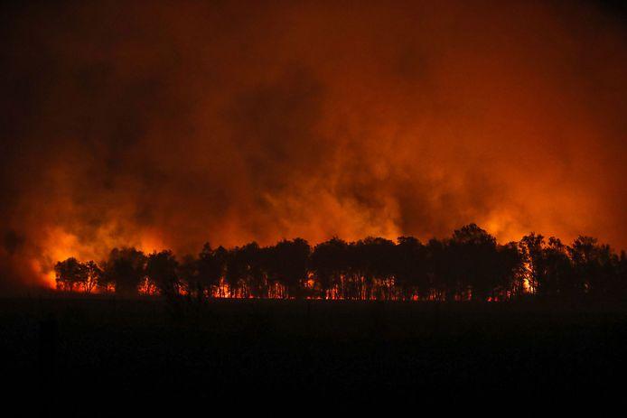 21 april: grote brand in natuurgebied de Deurnsche Peel.