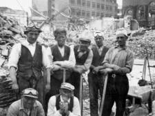 Stokoud filmpje: puinruimers vinden schatten in Rotterdam (maar gingen er soms met de buit vandoor)