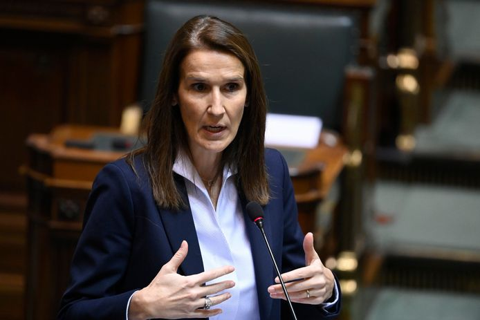 La ministre belge des Affaires européennes Sophie Wilmès.