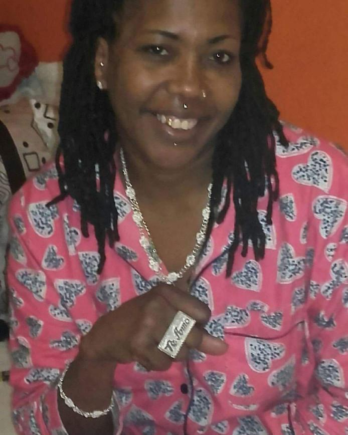 Adyan Koeiman. Haar lichaam werd 15 januari gevonden n een appartement aan de Mathenesserweg.