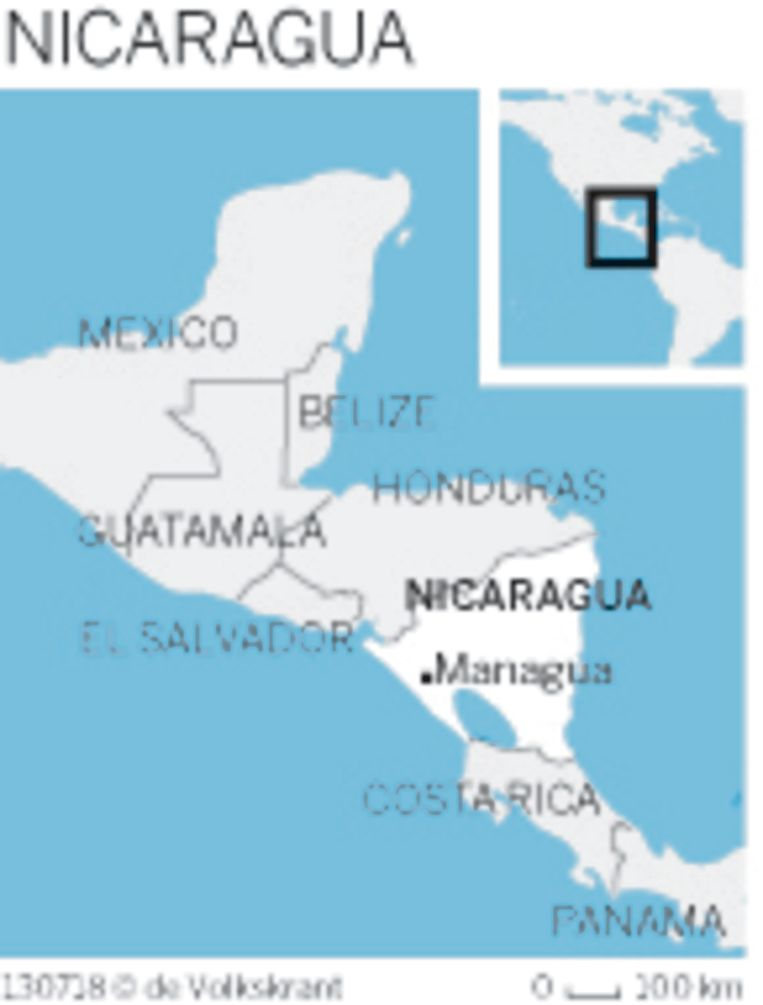 Nicaragua Beeld Volkskrant