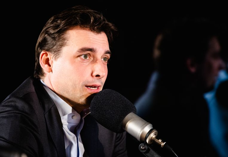 Forum-leider Thierry Baudet zal zich niet laten vaccineren. Beeld ANP