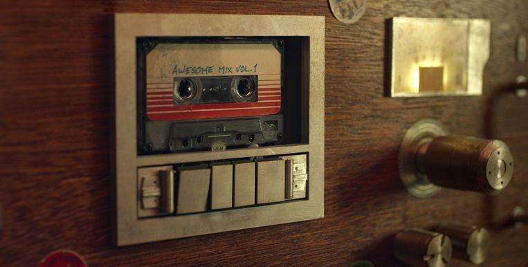 Van de mixtape uit 'Guardians Of The Galaxy' werden maar liefst 1,75 miljoen exemplaren verkocht in de VS alleen. Beeld RV