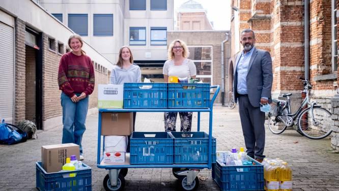 Scheppersinstituut zamelt opnieuw voedsel in voor armoedeverenigingen