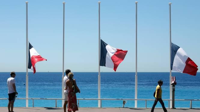 Frankrijk rouwt om de slachtoffers van Nice