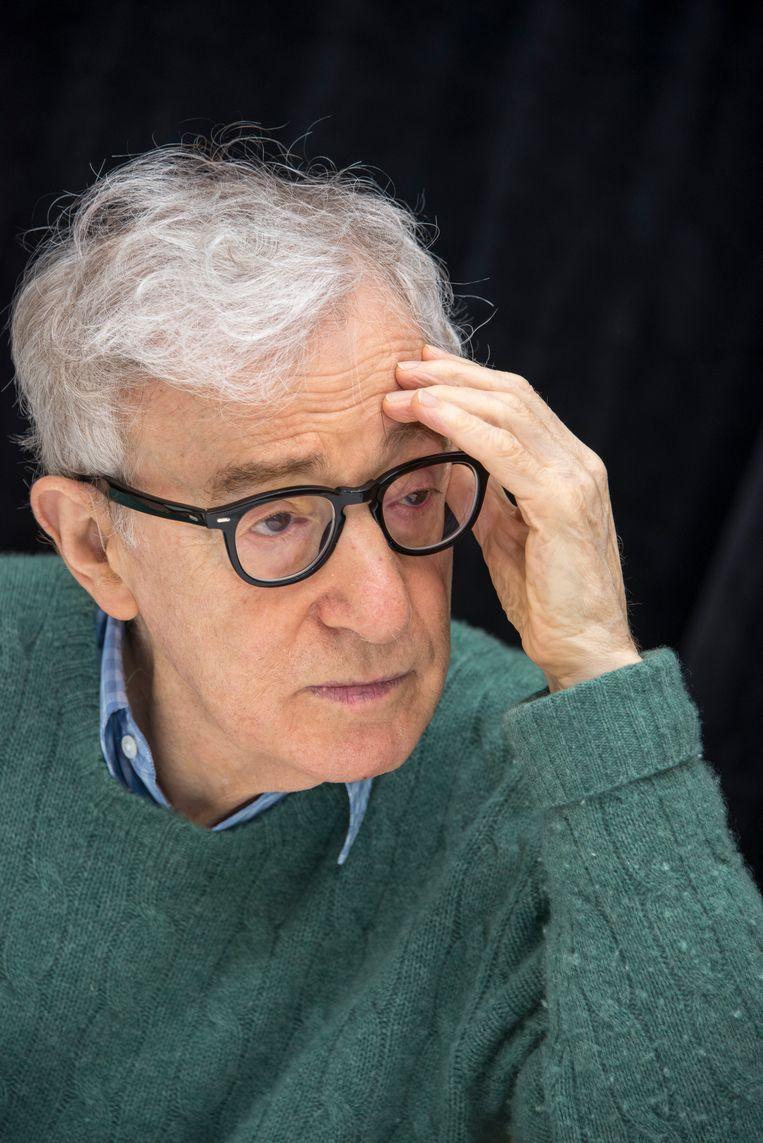 Woody Allen: 'De problemen waar de oude Grieken mee worstelden, zijn dezelfde als die waar wij vandaag nog altijd mee bezig zijn. Dat vind ik veel interessanter dan politiek.' Beeld WireImage