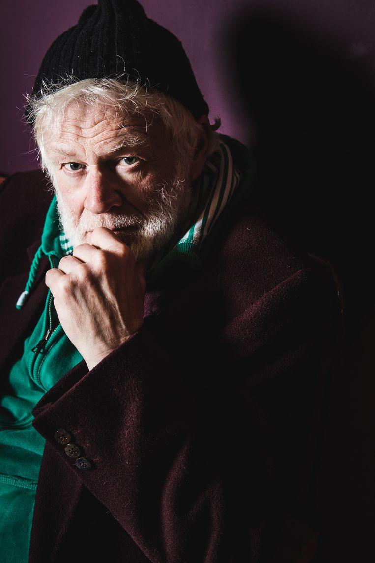 Bob De Moor, bijna 70 maar nog steeds wekelijks op de planken.