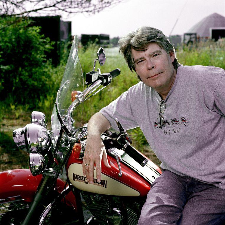 Stephen King in  2004.  Beeld Getty